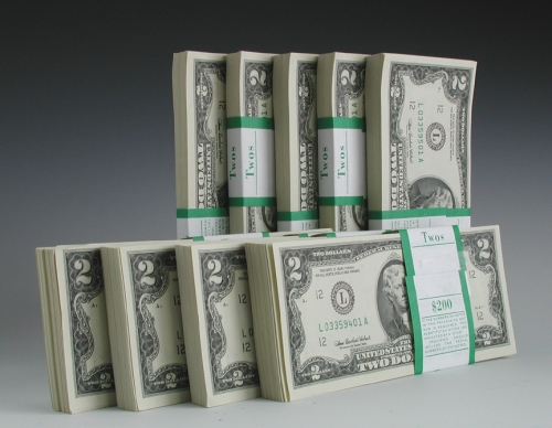 $2 bills