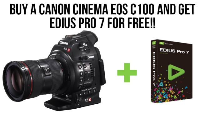 Promo EDius 7 Canon